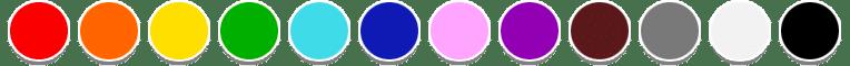 Gamma colore protezioni gomma antiurto