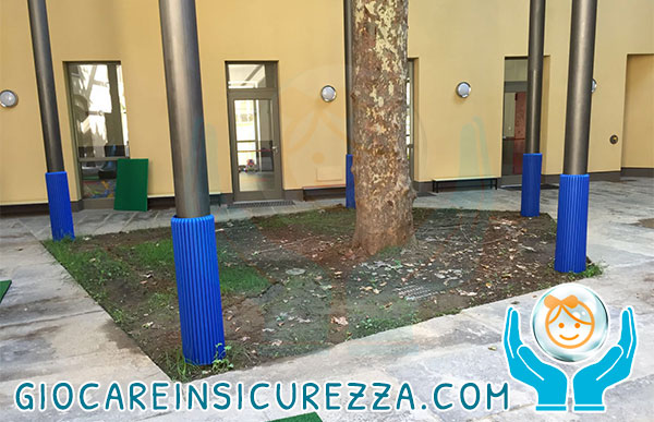 Protezione pilastri colonne ferro metallo