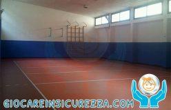 Protezione murale per campo da basket e volley